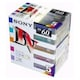 SONY MiniDV 6mm 칼라 5DVM60RX2 60분 DV테이프 (50개)_이미지