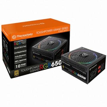 써멀테이크 터프파워 그랜드 RGB 650W 골드 풀 모듈러