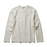 코오롱인더스트리 커스텀멜로우 soft texture round t-shirts CWTAA17512WHX_이미지
