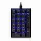 웨이코스 씽크웨이 CROAD K10 LED 기계식 숫자 키패드 (청축)_이미지