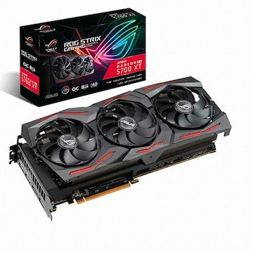 ASUS ROG STRIX 라데온 RX 5700 XT O8G GAMING D6 8GB 대원CTS