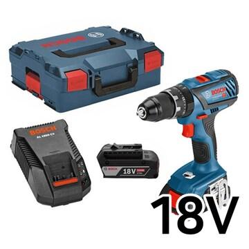 보쉬  GSB 18V-28 Professional (3.0Ah, 배터리 2개)
