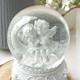 리빙하임 아기천사 워터볼 오르골 앉은천사커플 DS-833_이미지