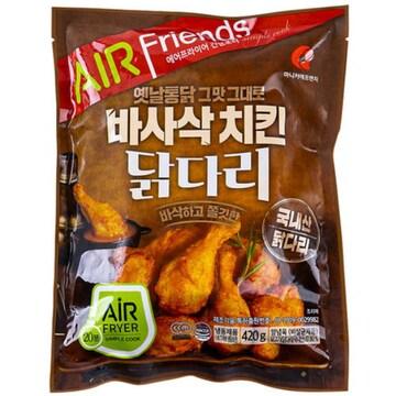 마니커 바사삭 치킨 닭다리 420g