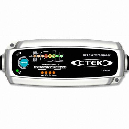 CTEK  MXS 5.0 TEST&CHARGE 스마트 배터리 충전기_이미지