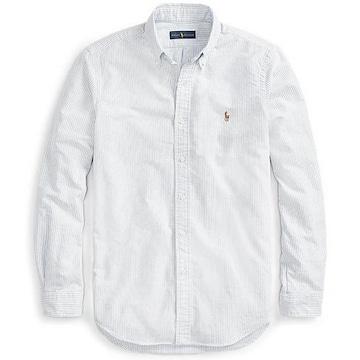 폴로 클래식핏 스트라이프 셔츠 MNPOWOV16820201400_이미지