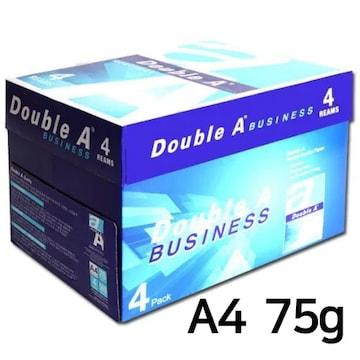 더블에이  비즈니스 복사용지 A4 75g 팩 (2,000매)
