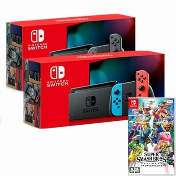 Nintendo 닌텐도 스위치 배터리개선 8인용 게임타이틀 패키지