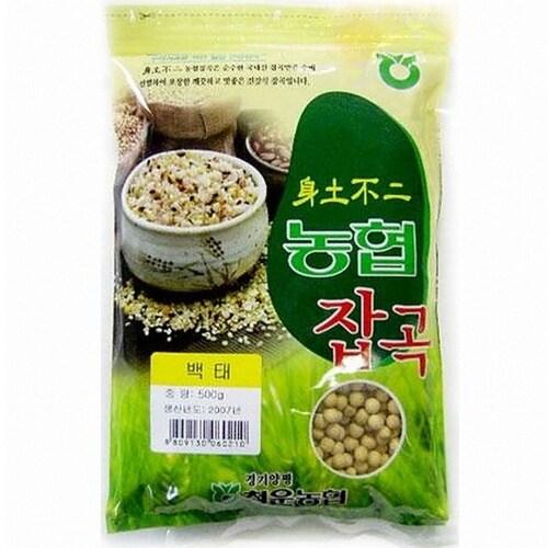 청운농협  백태 4kg (1개)_이미지