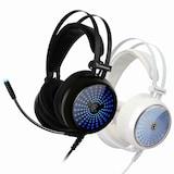 COX  CH30 일루젼 7.1 블루 LED 게이밍 헤드셋 (화이트)_이미지