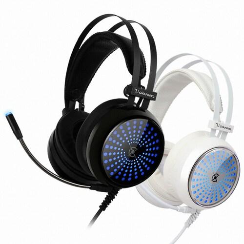 COX  CH30 일루젼 7.1 블루 LED 게이밍 헤드셋_이미지
