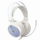 COX  CH30 일루젼 7.1 블루 LED 게이밍 헤드셋 (화이트)_이미지_2