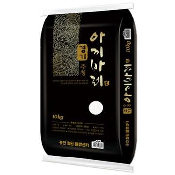 홍천철원물류센터  경기 추청 아끼바레 10kg (18년산) (2개)