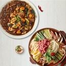 칼칼 소고기 버섯 샤브와 마무리 칼국수 2인분+당면 듬뿍 안동 매콤 찜닭 2인분