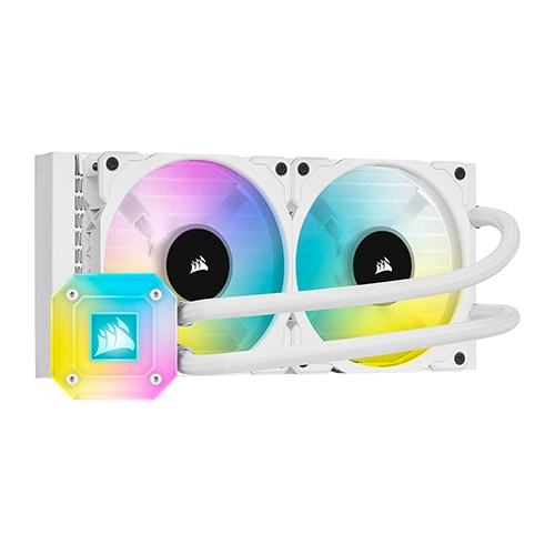 CORSAIR iCUE H100i ELITE CAPELLIX WHITE