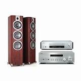 야마하 R-N402 + CD-NT670 + 와피데일 VR-400
