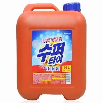 수퍼타이 액체세제 14L(1개)