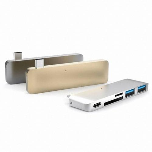 Sanho HYPER HyperDirve USB Type C 5in1 Hub (GN21B)_이미지