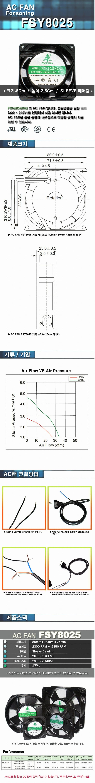 STstore  FSY8025 (AC FAN)