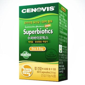 세노비스  수퍼바이오틱스 60캡슐 (1개)