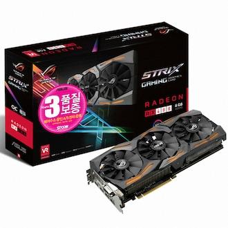 ASUS ROG STRIX 라데온 RX 480 O8G GAMING 8GB STCOM_이미지