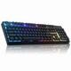 앱코 HACKER K995P V3 RGB PBT 무접점 (블랙, 45g)_이미지