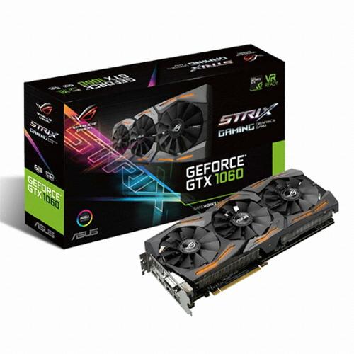 ASUS ROG STRIX 지포스 GTX1060 GAMING D5 6GB