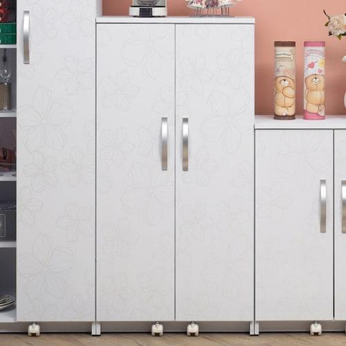 미소비즈 웰우드 샤픈 디오스 냉장고형 주방수납장 중 600_이미지