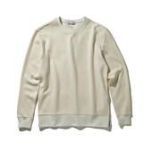 코오롱인더스트리 커스텀멜로우 waffle texture sweatshirt CWTAW17715WHX_이미지