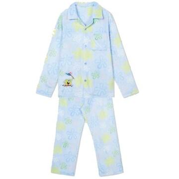 스파오 돌아온 스폰지밥 수면 잠옷 SPPPA4TU04 (블루)_이미지