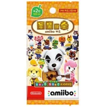 Nintendo 동물의 숲 아미보 카드 제 2탄(한글판)