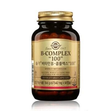 솔가 비타민 B-콤플렉스 100 50캡슐(1개)