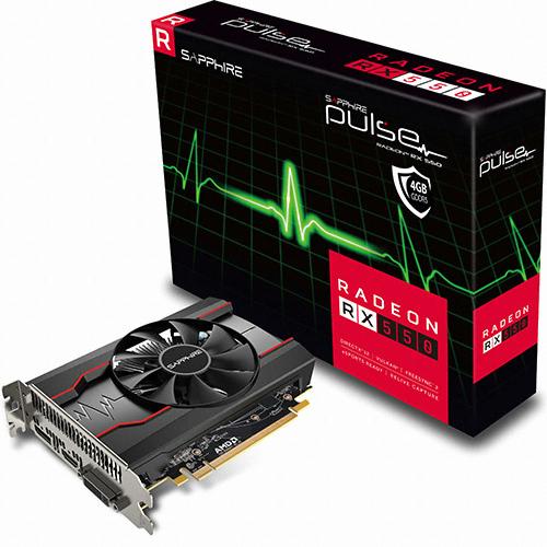 SAPPHIRE 라데온 RX 550 OC D5 2GB PULSE