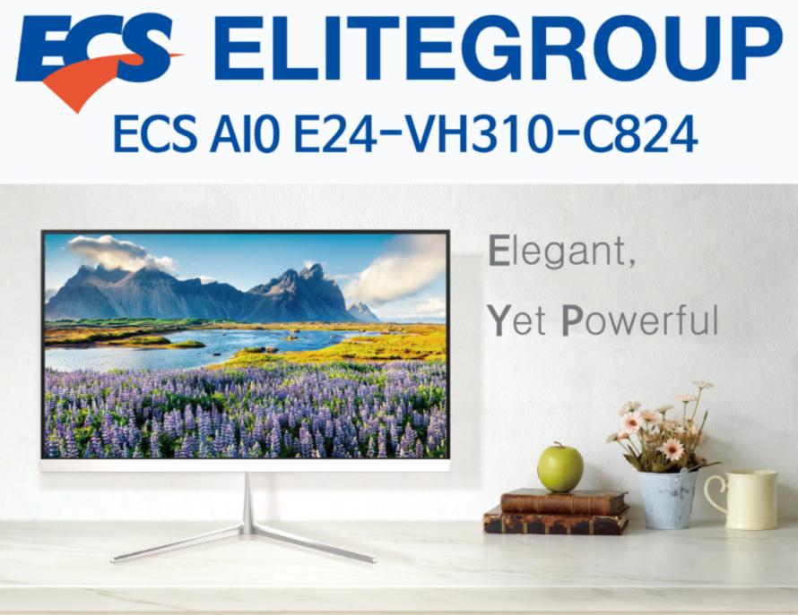 ECS AIO E24-VH310-C824 (8GB, M2 240GB)