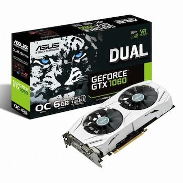 ASUS DUAL 지포스 GTX1060 O6G D5 6GB
