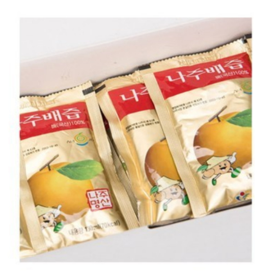 옛스런식품 나주배즙 130ml 50포(1개)