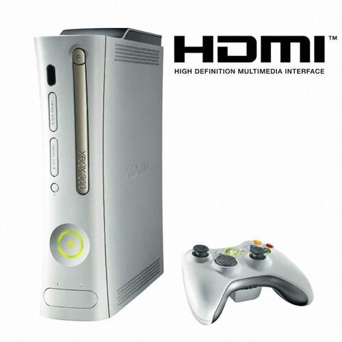 XBOX360 시스템 (HDMI 포트/ 제퍼)_이미지