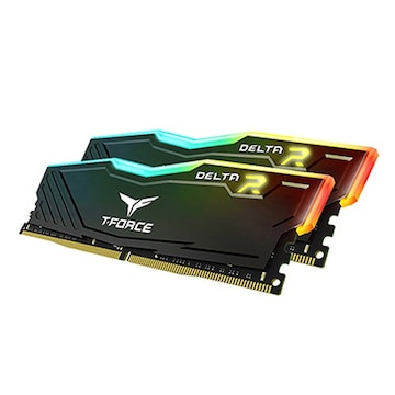TeamGroup T-Force DDR4 32G PC4-28800 CL18 Delta RGB (16Gx2) 가넷