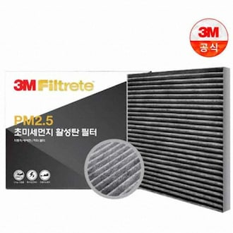 3M PM2.5 초미세먼지 활성탄 필터 F6205 (1개)_이미지