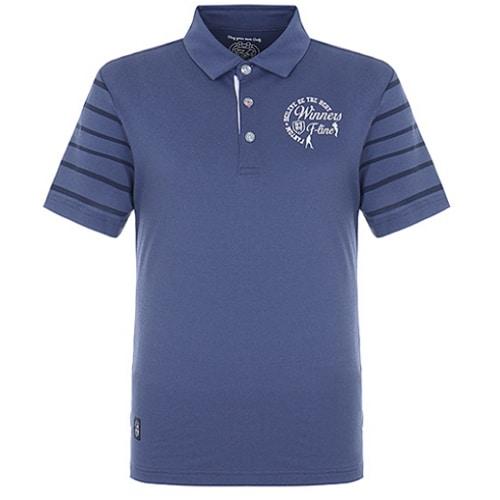 팬텀 빈티지 소매 스트라이프 반팔 티셔츠 21182TO024_NA_이미지