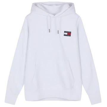 타미진 코튼 긴소매 후드 티셔츠 T32A7TTO025MT1 YBR_이미지
