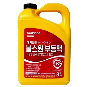 불스원  사계절용 부동액 3L (1개)