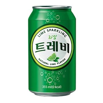 롯데칠성음료 트레비 라임 355ml(24개)