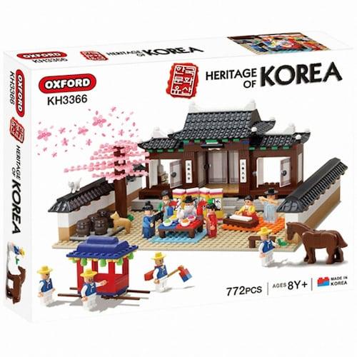옥스포드 한국문화유산 전통혼례 (KH3366)_이미지