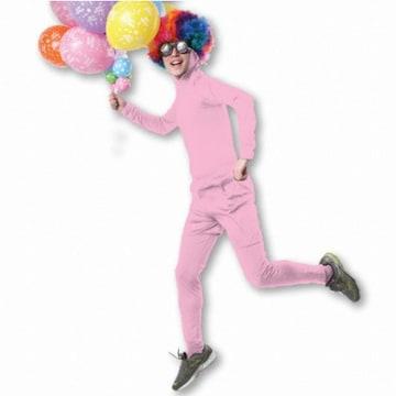 새로핸즈 성인쫄쫄이의상 반바지세트 핑크