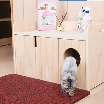 Automated Pet Care Products 리터로봇 전용 원목화장실