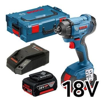 보쉬  GDR 18V-160 Professional (5.0Ah, 배터리 2개)