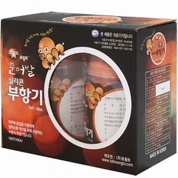 토황토 THT-1004 문어발 실리콘 부항기(10개)