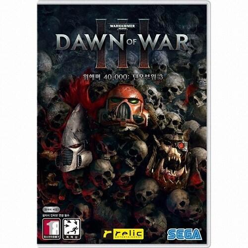 워해머 40000 던 오브 워 3 (Warhammer 40000 Dawn of War 3) PC 한글판,일반판_이미지