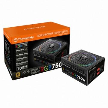 써멀테이크 터프파워 그랜드 RGB 750W 골드 풀 모듈러